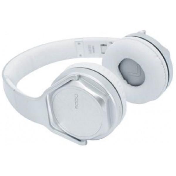 Ακουστικά/Ηχεία Bluetooth SoDo MH3 Speaker + Headphone 2 in 1 SILVER