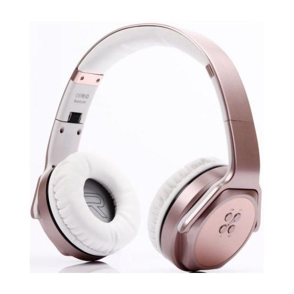 Ακουστικά/Ηχεία Bluetooth SoDo MH3 Speaker + Headphone 2 in 1 ROSEGOLD