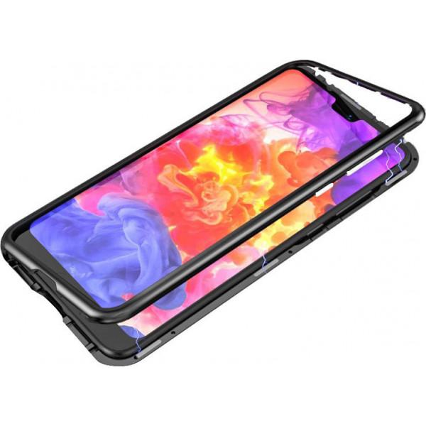 Μαγνητική Μεταλλική Θήκη Detachable Metal Frame με Πίσω Όψη από Tempered Glass για Xiaomi Redmi Note 7
