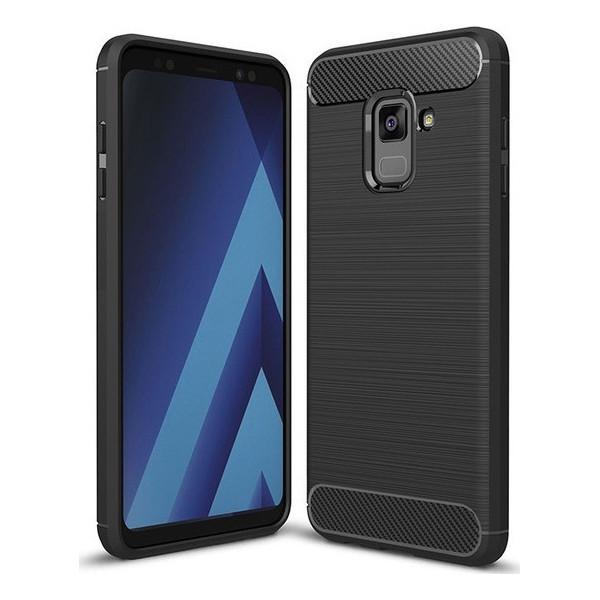 Carbon Fiber S-Case Για Samsung Galaxy J6 2018