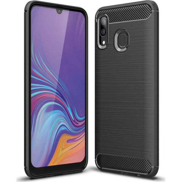 Carbon Fiber S-Case 0,33mm Για Samsung Galaxy A40