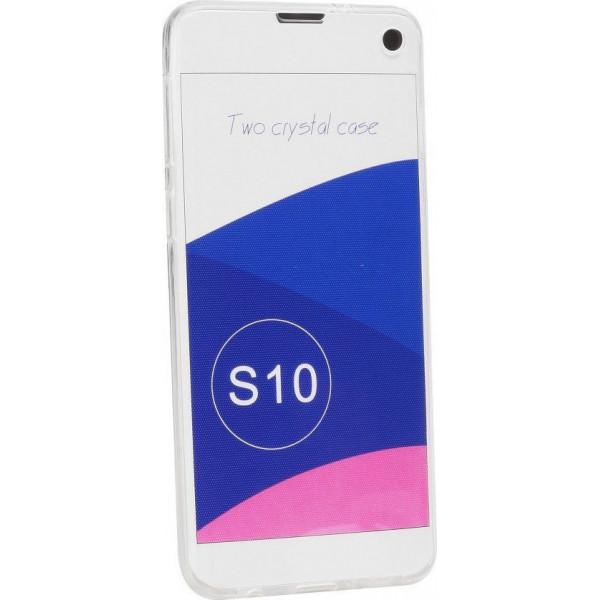 Θήκη Σιλικόνης 360° Front & Back Για Samsung Galaxy S10