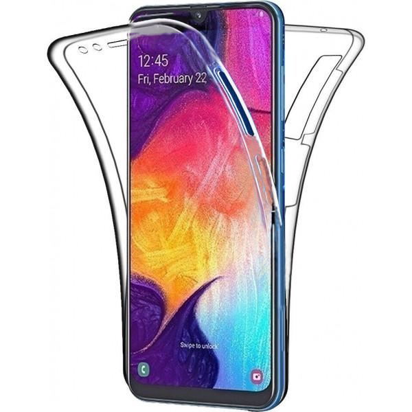 Θήκη Σιλικόνης 360° Front & Back Για Samsung Galaxy A50