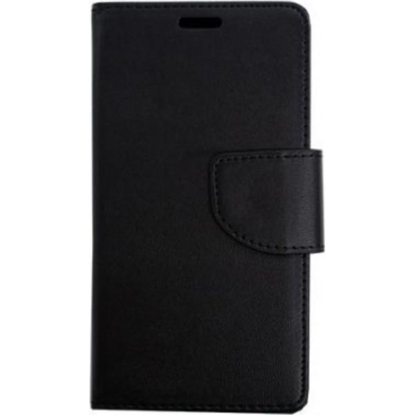 Book Stand Δερματίνης Μαύρο (Xiaomi Mi A3)