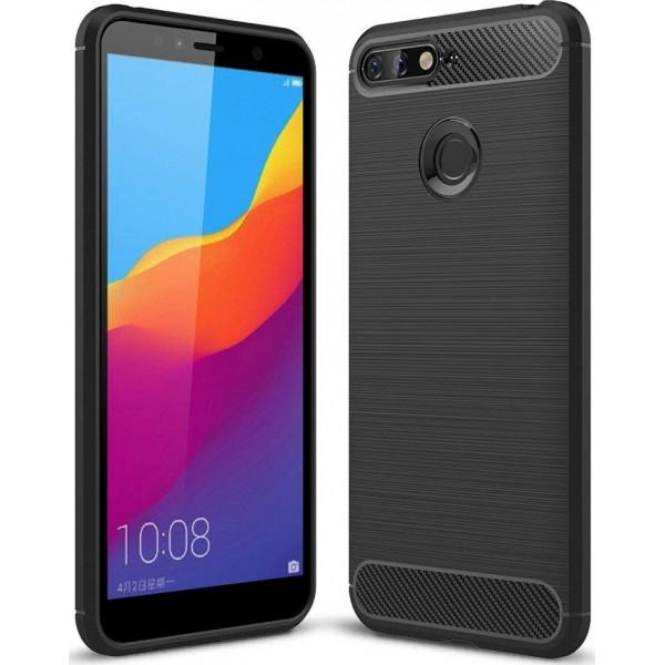 S-Case Carbon Fiber Για Huawei Y6 Prime 2018