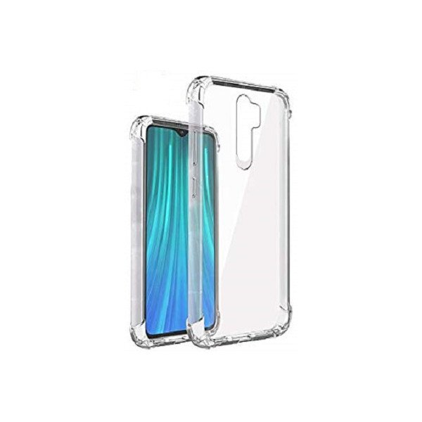 Shock Proof Back Cover Σιλικόνης Διάφανο για Xiaomi Redmi Note 8 Pro