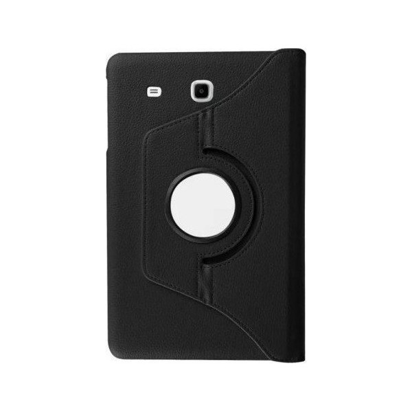 Leather Case Stand (360 degree rotating) for Samsung T560 Blister
