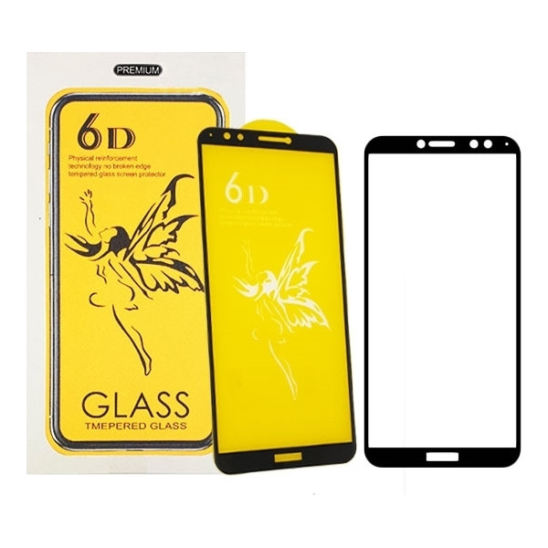 Προστασία Οθόνης Tempered Glass 6D Full Cover Full Glue 0.3mm για Xiaomi Mi A2 Lite/Redmi 6 Pro