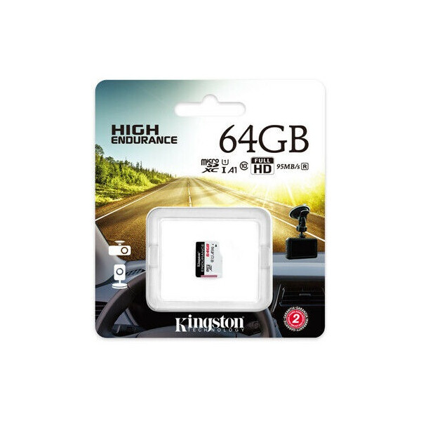 Kingston Endurance microSDXC 64GB U1 A1
