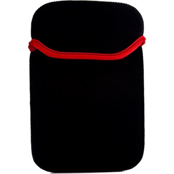 Neopren Υφασμάτινη Θήκη Tablet - Μαύρο - Κόκκινο - 12''