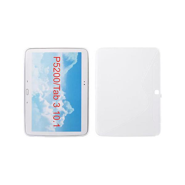 "S-Line Silicone Samsung Galaxy Tab 3/P5200 10.1"" white"