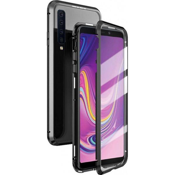 Μαγνητική Μεταλλική Θήκη Detachable Metal Frame με Πίσω Όψη από Tempered Glass για Samsung Galaxy A920 A9 2018