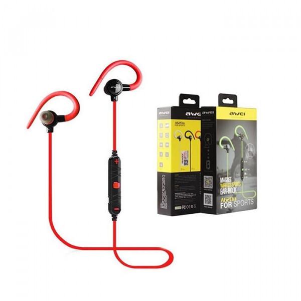 Bluetooth Awei A620BL Magnet Sport Neckband Wireless Ear-Hook Earphones Headset Ασύρματα Ακουστικά