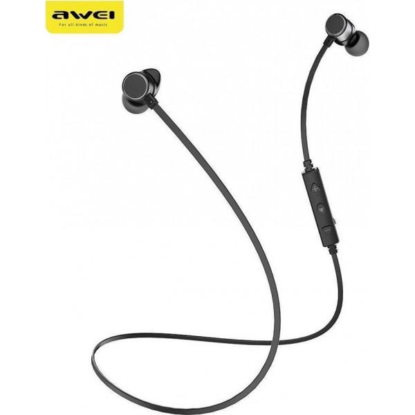 Bluetooth Awei WT10 Magnetic Wireless Sports Earphones Headset Ασύρματα Ακουστικά