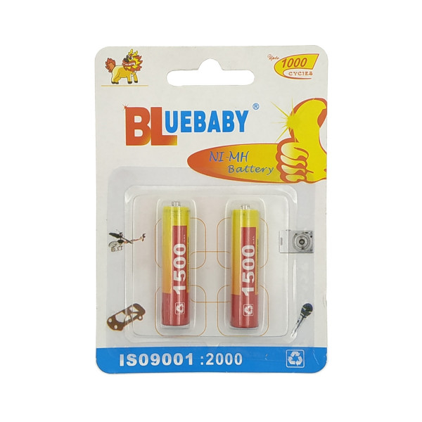 Μπαταρίες Bluebaby AAA 1500 mAh