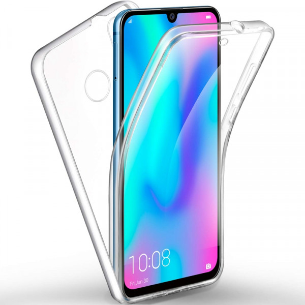 Front & Back 360 Full Cover Σιλικόνης Διάφανο Για P Smart Plus 2019