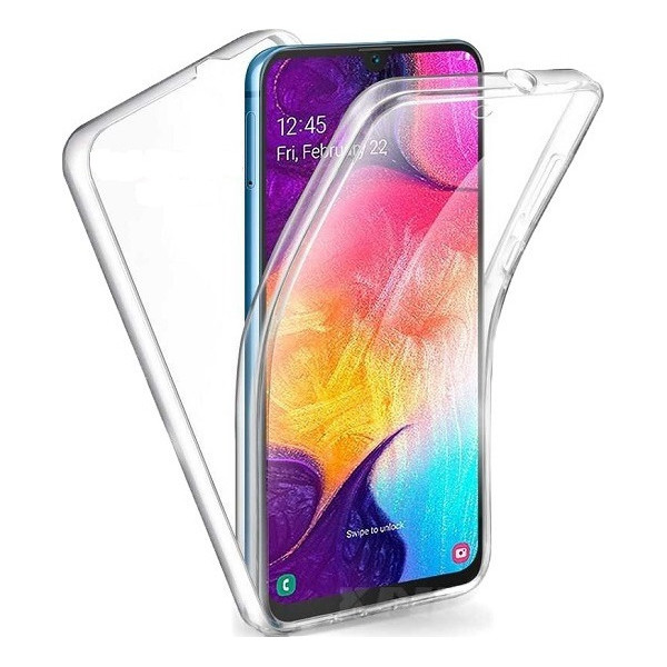 Front & Back 360 Full Cover Σιλικόνης Διάφανο Για Redmi Note 8 Pro
