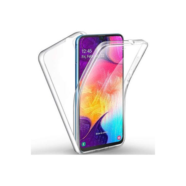 Θήκη 360 Σιλικόνης Front & Back για Samsung Galaxy A70
