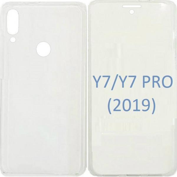 Θήκη 360 Front & Back Σιλικόνης για Huawei Y7 / Y7 Prime 2019