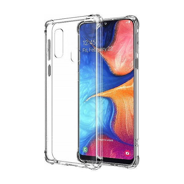Θήκη Shockproof Back Cover Σιλικόνης για Samsung Galaxy A20e