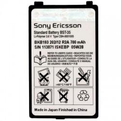 Battery Sony Ericsson BST-35 Li-Polymer 3.6V 700 mAh Original