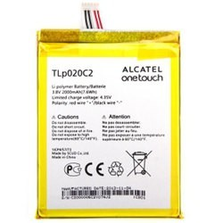 Battery Alcatel TLp020C2 - CAC2000012C2 Li-Polymer 3.8V 2000mAh Original
