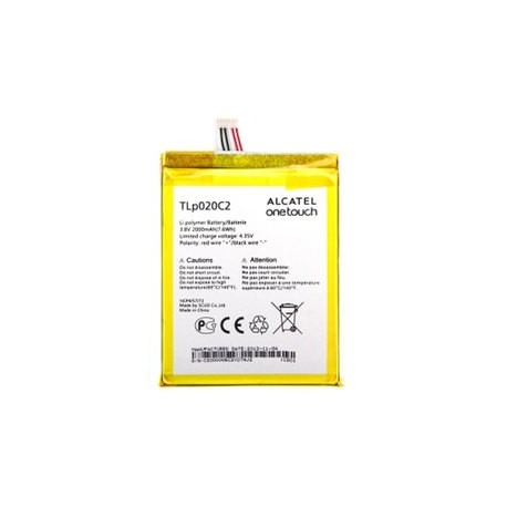 Battery Alcatel TLp020C2 - CAC2000012C2 Li-Polymer 3.8V 2000mAh Original