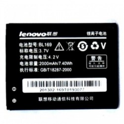 Battery Lenovo BL169 Li-Ion 3.7V 2000mAh Original
